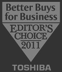 Toshiba Better Buys for Business Editor's Choice 2011